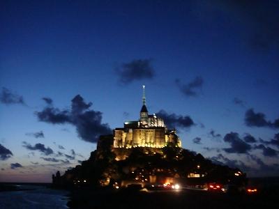モンサンミッシェル:フランス旅行
