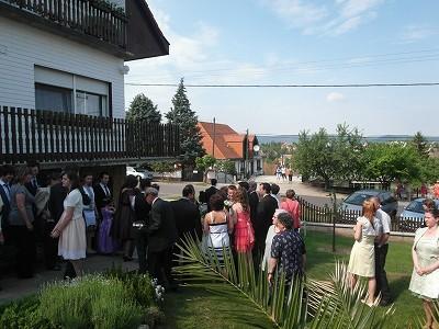 ハンガリーの友達の家に遊びに行った時の写真