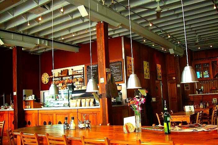 オーストラリアのカフェ