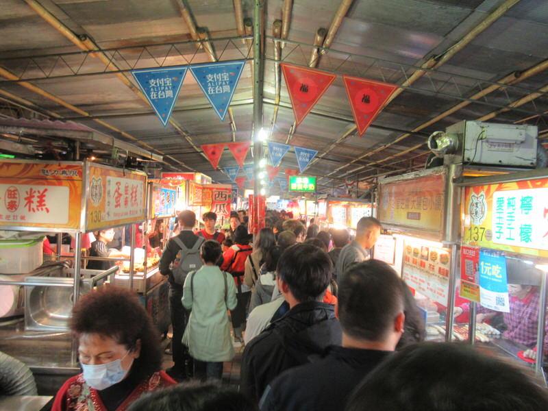 台湾・台北のナイトマーケットに連れて行ってもらった^^